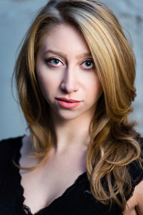 professional studio headshot girl actor