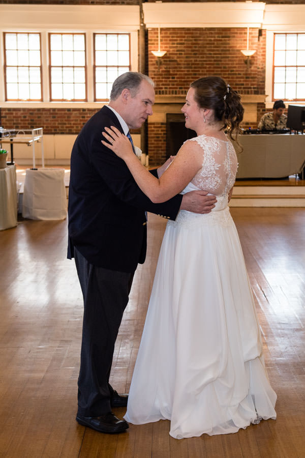 father daughter dance at picnic house in prospect park