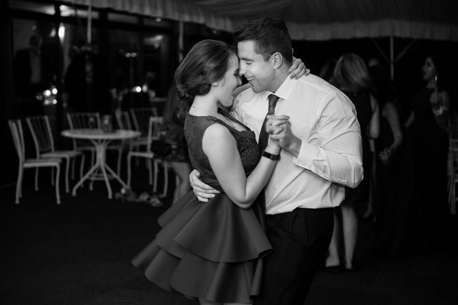 couple dancing at giando on the water wedding venue