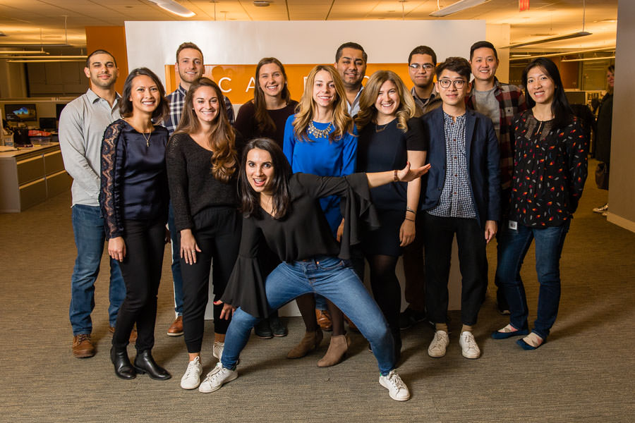 cadreon employees in nyc office