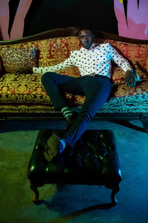 Mohamet Mbaye at monaliza studios editorial night hub colletctive