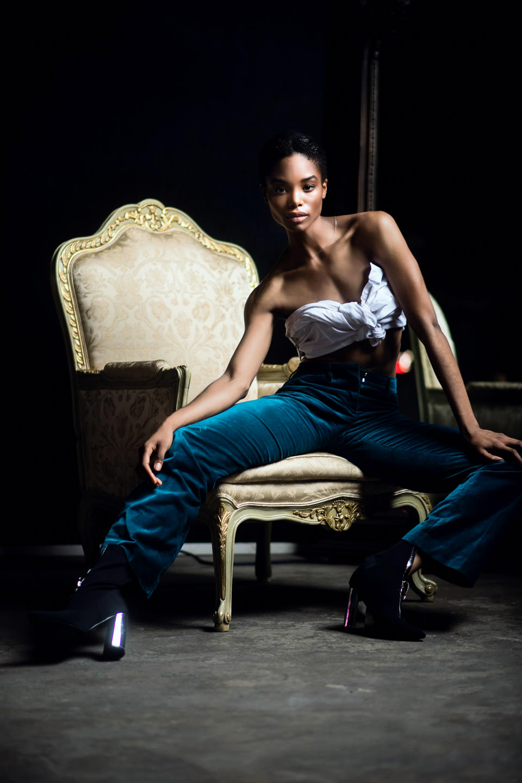 tiffany hendricks model at monaliza editorial night hub collective