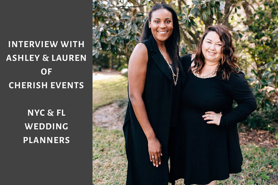 MyWeddingPodcast Interview Cover art with Ashley Aguilar and Lauren Gordon of Cherish Events - NYC Wedding Planning Company