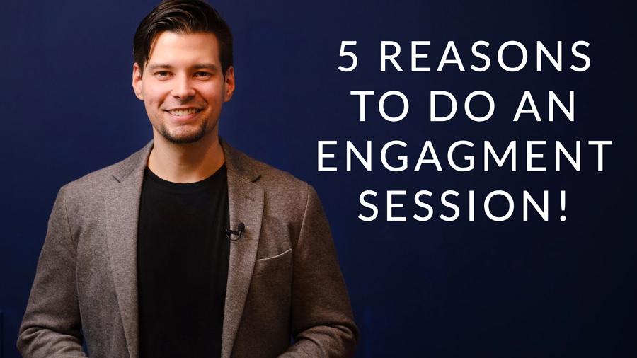 5 Reasons to Do an Engagement Session Before Your Wedding