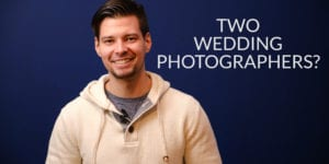 Do you need two wedding photographers video thumbnail