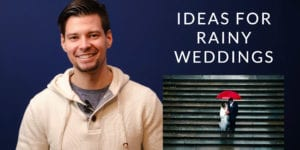 What happens if if rains on your new york city wedding?