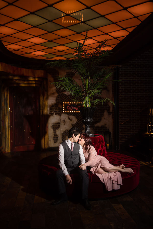 Roxy Hotel Engagement Session in NYC