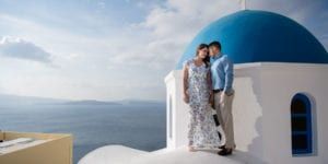 santorini honeymoon session in greece