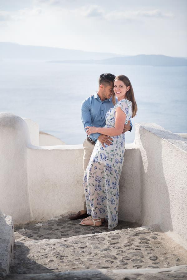 santorini honeymoon session in greece