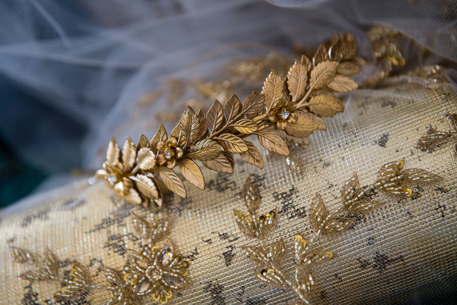 golden tiara detail photo