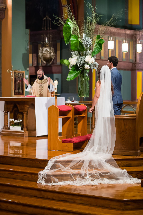 wedding at Church of St. Paul the Apostle in new york city