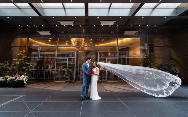 Kaitlin and Gianfrancesco's Wedding at Mandarin Oriental Hotel in NYC