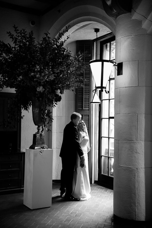 Karen and Bruce get married at the yale club in nyc