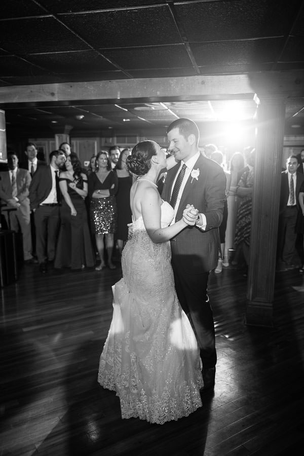 first dance at olde mill inn new jersey wedding