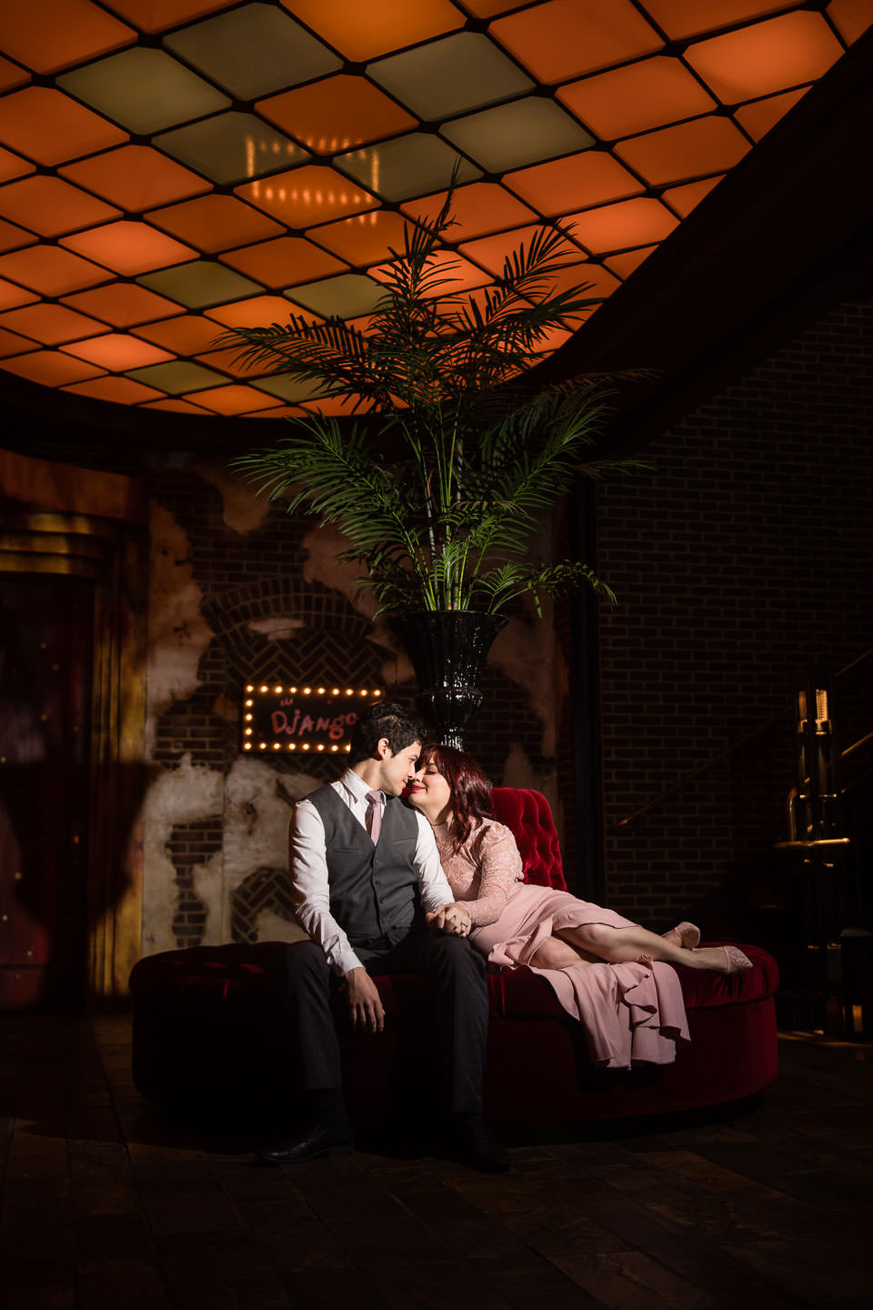 roxy hotel engagement session nyc