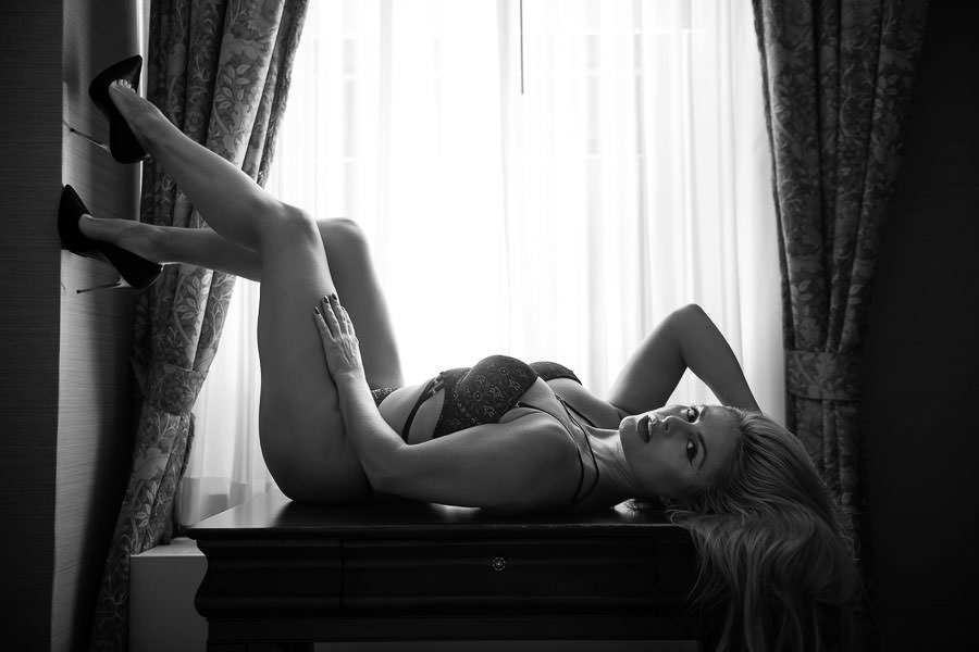 NYC Bridal Boudoir Photography