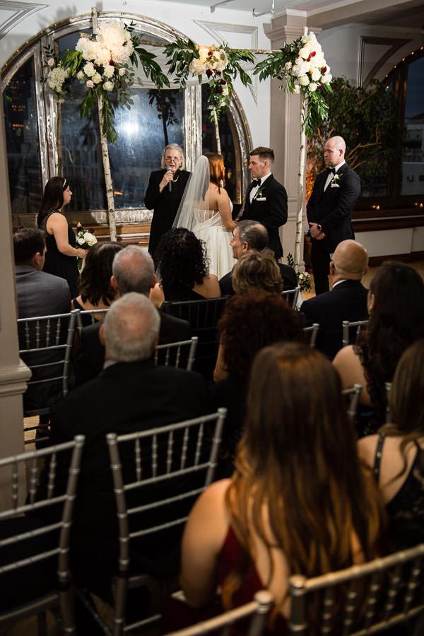 manhattan penthouse wedding ceremony
