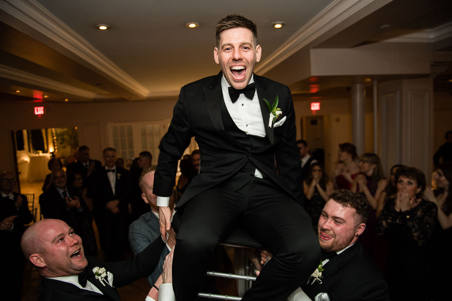 hora dance at manhattan penthouse wedding venue in nyc
