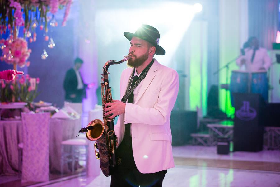 ti fusion band performing at metropolitan ballroom in brooklyn nyc