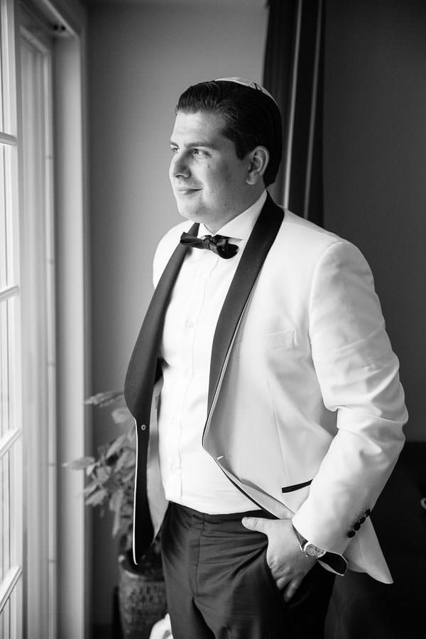 groom portraits before the wedding