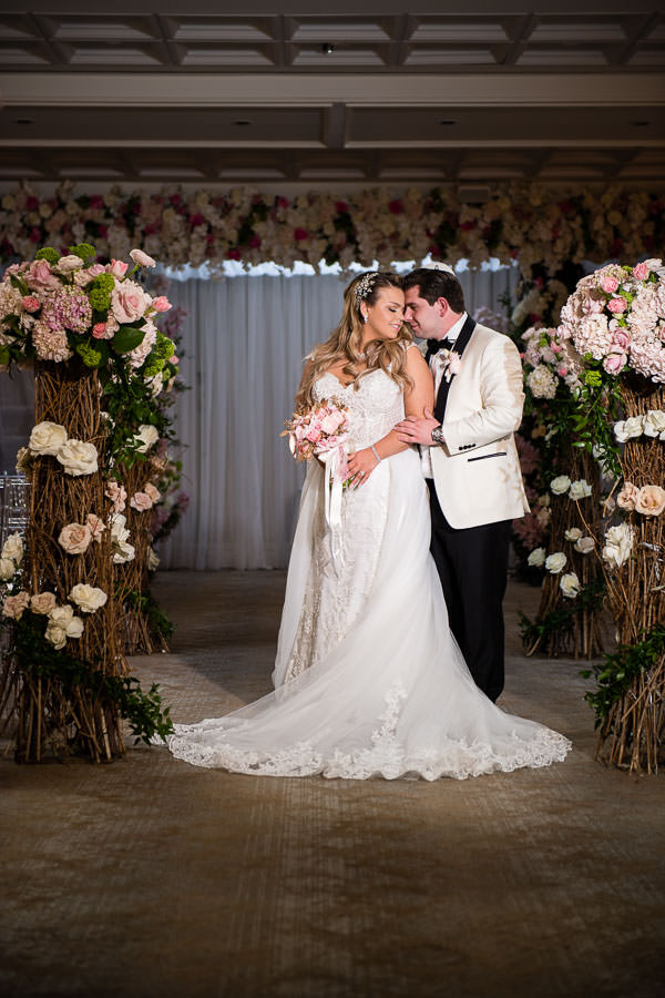 metropolitan ballroom wedding ceremony
