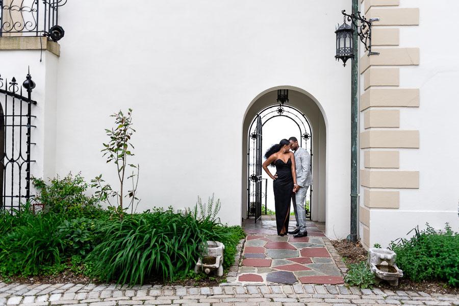 Vanderbilt Museum Engagement Photography