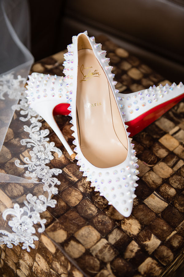 wedding louboutin shoes