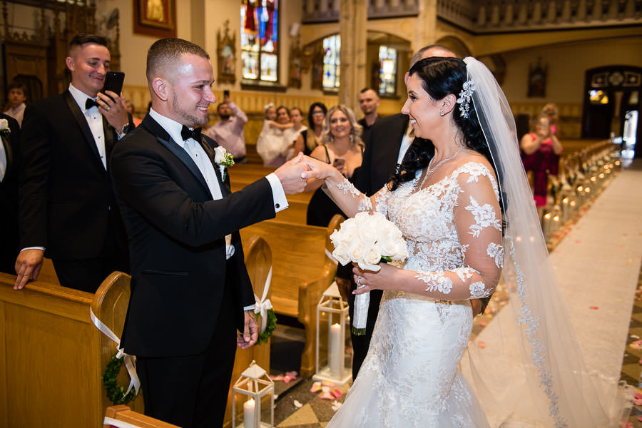 Polish wedding in new york city church ceremony st stanislaus kostka