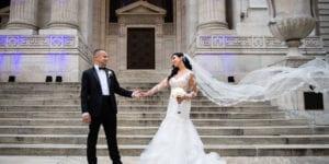 New York Public Library Wedding Photography