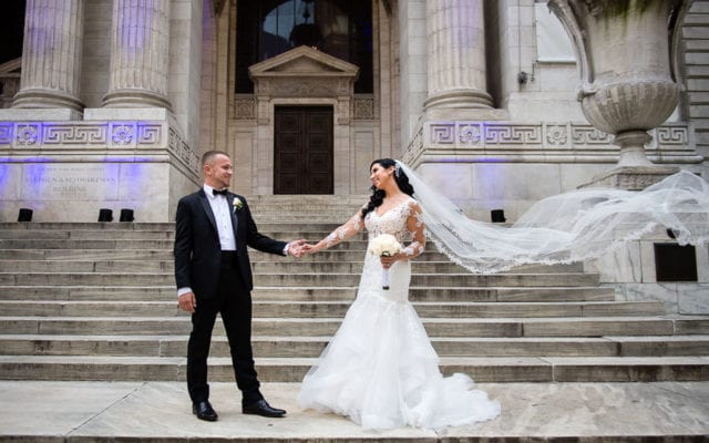 Diana & Matthew's New York Public Library Wedding