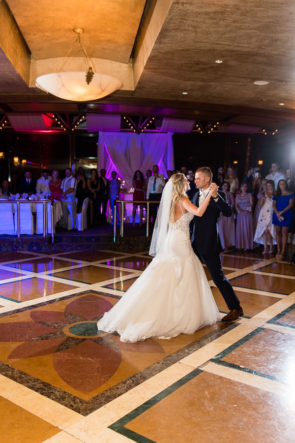 crest hollow country club wedding in long island first dance