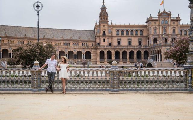 Paula & Igor's Engagement Session in Seville, Spain