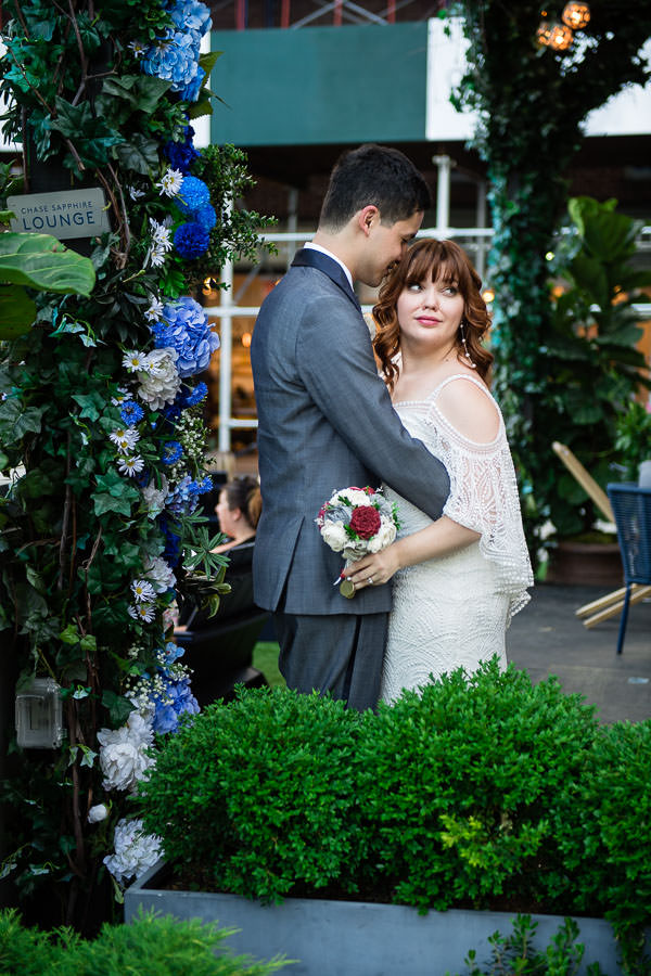 nyc south street seaport wedding session