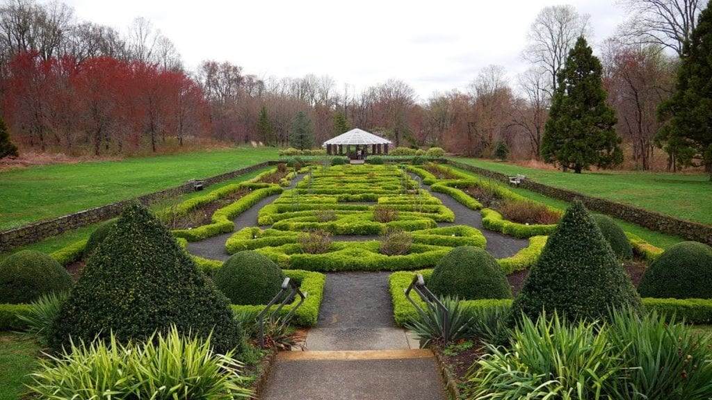 deep cut gardens engagement session
