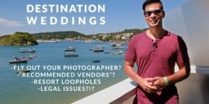 destination wedding photographer video thumbnail