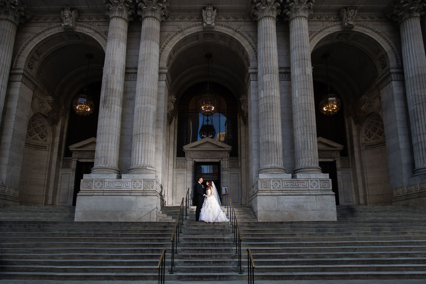 new york public library wedding (2)