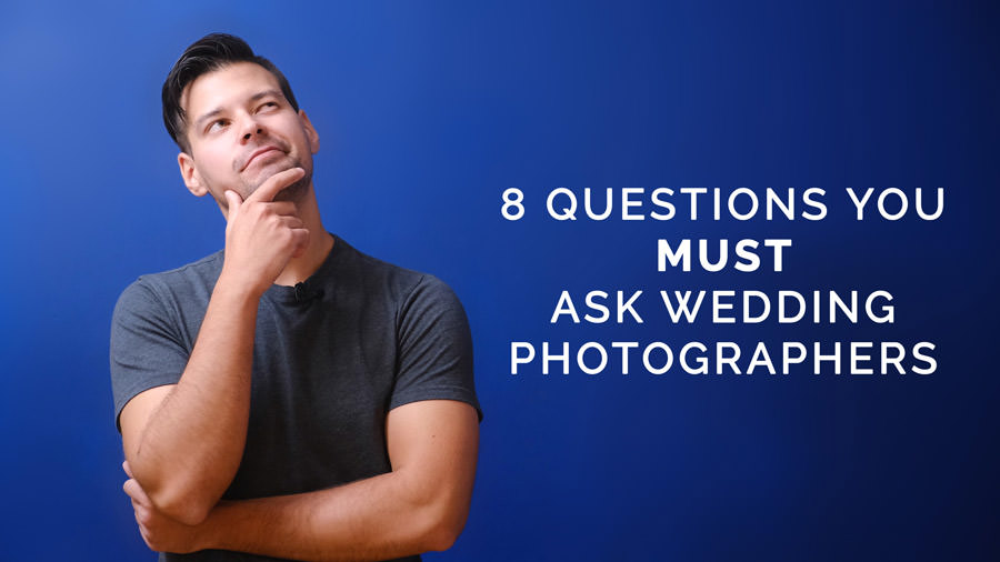 what to ask wedding photographers