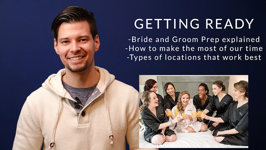 getting ready on your wedding day tips and advice video thumbnail
