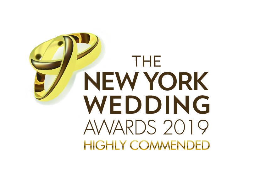 Recognized as Best NYC Wedding Photographer Runner up by The New York Wedding Awards!