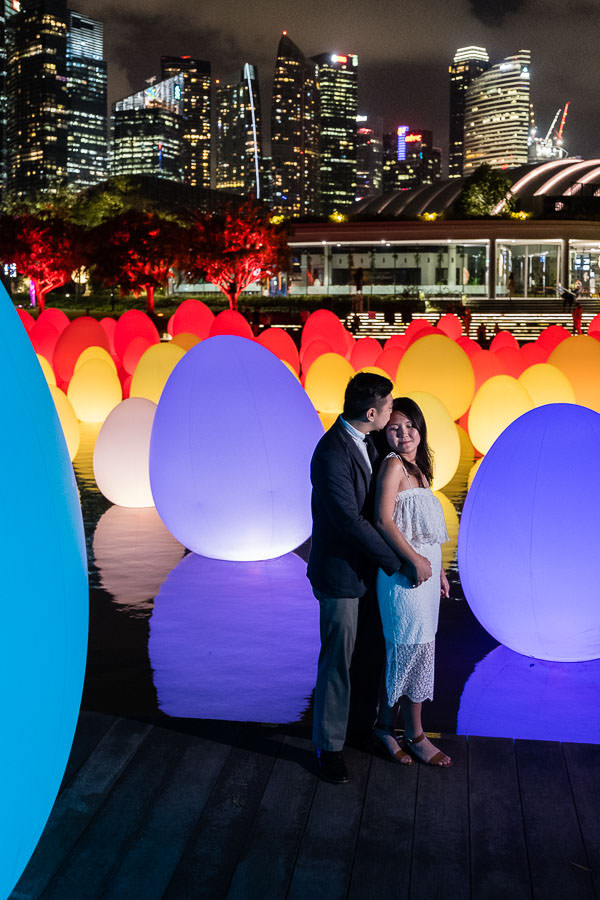Singapore Engagement Session at Gardens by the Bay