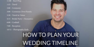 How to Plan a wedding timeline