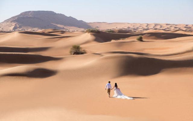 Dubai Desert Wedding Session with Joana & Mark