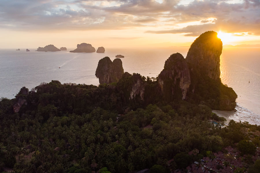 thailand engagement session on railay beach