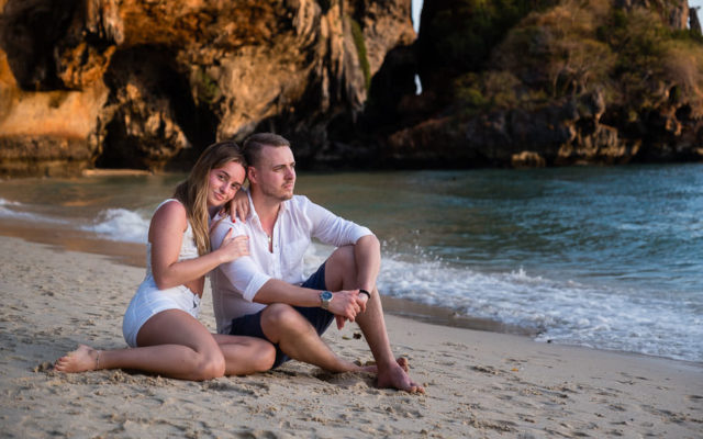 Thailand Engagement Session with Olivia & Christoffer