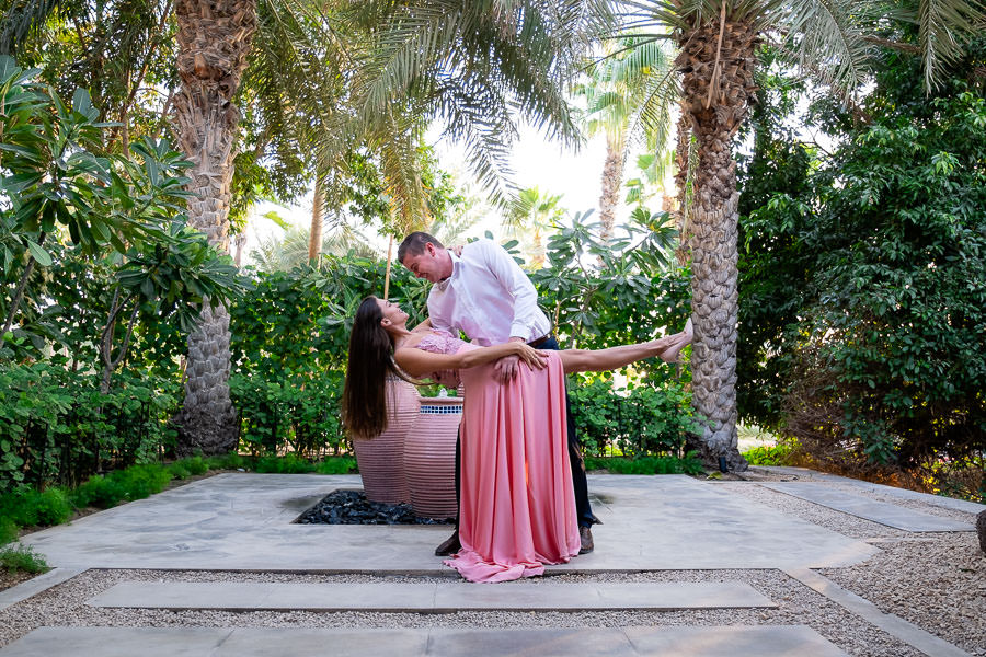 dubai madinat engagement session