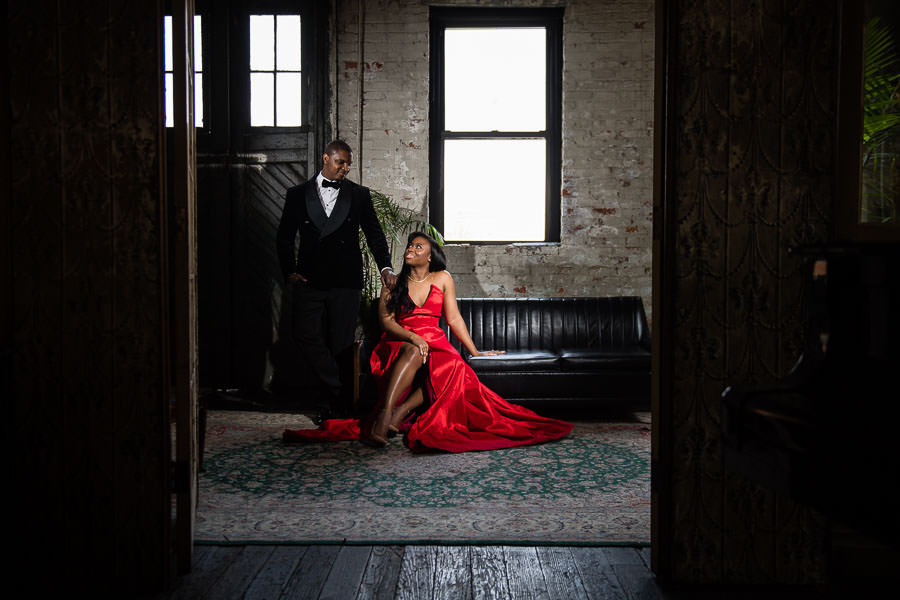 Luxury NYC Engagement Session | Tiffany & Tyrone