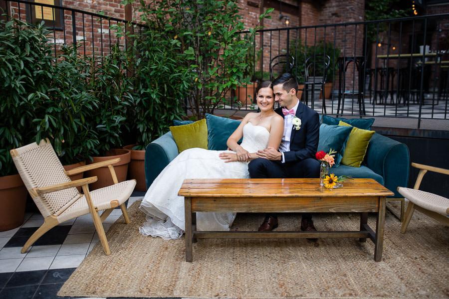 Brooklyn Wythe Hotel Wedding | Izabela & Lucas